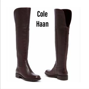 Cole Haan Over The Knee Boot Size 10